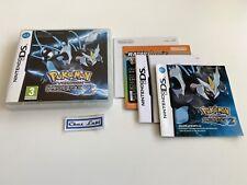 Boite + Notice (Sans Jeu) - Pokémon Version Noire 2 - Nintendo DS - PAL FRA