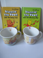 2x Royal Doulton Mugs Winnie the Pooh Blustery Day Honey Tree Ladybird Books VGC