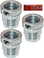 Lee Breech Lock Quick Bushings w/ Die Lock Ring Eliminator Pak of 3, THREE 90063