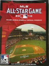 All Star Baseball Game Official Program MLB INSIDERS CLUB LIMITED EDITION 2010