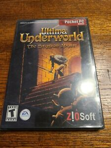 NEW & SEALED - ULTIMA UNDERWORLD: THE STYGIAN ABYSS -  PC GAME POCKET PC