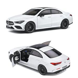 1/18 Solido Mercedes Benz CLA C118 Coupe AMG Line 2019 Neuf Livraison Domicile