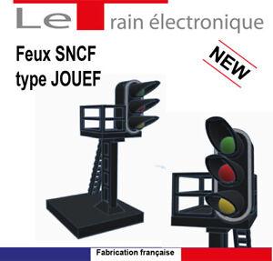 FEUX SNCF TYPE JOUEF TRAIN MODELISME HO
