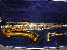 CONN TENOR SAXOPHONE 16M with case.No RESERVE !.Ships U.S/Canada