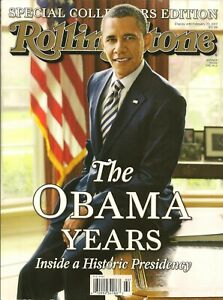 The Obama Years - Rolling Stones Collectors Edition