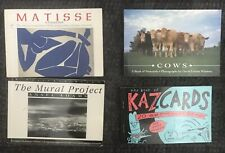 Postcard Books x 4