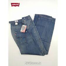 LEVI'S jeans LEVIS ENGINEERED 0002 LOOSE FIT COUPE LARGE DENIM Vintage TWIST LEG
