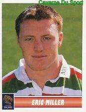 077 ERIC MILLER  LEICESTER TIGERS STICKER PREMIER DIVISION RUGBY 1998 PANINI