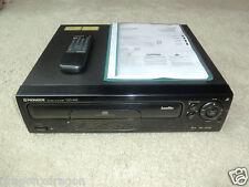 PIONEER cld-s315 LASER DISC-Player nero, fb&bda, molto ben tenuto, 2j. GARANZIA