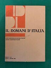 IL DOMANI D'ITALIA anno II n. 4 - Aprile 1969