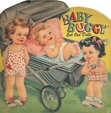 Vintage 1930-40s Baby Buggy Paper Dolls Laser Reproduction~Uncut Lo Pr No.1 Sell