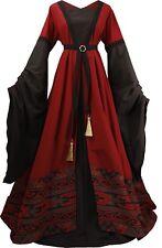 Mittelalter Gothic Karneval Kleid Gewand Kostüm Rebekka Maßanfertigung Farbwahl