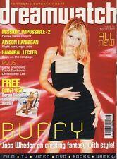 Dreamwatch August 2000 Buffy The Vampire Slayer 020817DBE
