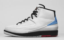 Nike Air Jordan 2 II Retro UNC White Blue Red Size 12. 917931-900