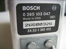 Boitier électronique ABS BMW E34 BOSCH 3452 1160413 0265103047 unité de controle