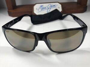 Maui Jim Red Sands MJ 432-11T Grey Tortoise Sunglasses HCL Bronze Polarized Lens