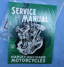 Harley Davidson Big Twin Motorcycle Book Manual 1940-1947 Knucklehead 61/74/80