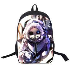 Game Undertale Sans Papyrus Backpack School Shoulder Bag Laptop Rucksack Gift