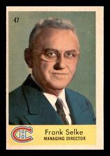 FRANK SELKE 59-60 PARKHURST 1959-60 NO 47 EXMINT+  13719