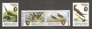 Marshall Islands SC # 63-64, C1-C2 John James Audubon Bicentenary . MNH