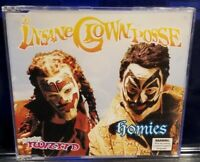 Insane Clown Posse - Homies ft. Twiztid CD Single Gathering of the Juggalos icp