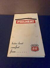 "Vintage PHILIPPS 66 ""PHILHEAT"" Advertising Sewing Needle Book - West Germany"