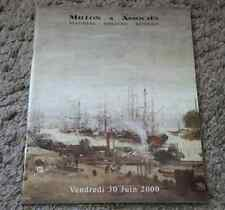 CATALOGUE VENTE ENCHERES 2000 SOUVENIRS NAPOLEONIENS Col Mr K Dessins Miniatures