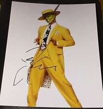 JIM CARREY SIGNED AUTOGRAPH RARE THE MASK CLASSIC POSTER PROMO 11x14 PHOTO COA