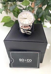 SO & CO Chelsea 5071 Women's Bracelet Watch,  NEW.