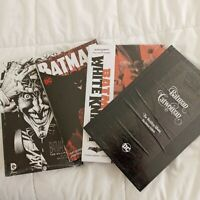 (4) Batman Noir The Killing Joke/ HC B&W Art/ DC White Night/ Catwoman -Sealed