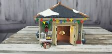 Dept 56 Village Xmas Holiday Train Another Man's Treasure Garage Shed