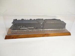 Train Display Case 20 inch Wood Base O Gauge Track Plexi Cover X5339