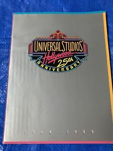 Universal Studios 25th Anniversary Vintage Guide/Catalogue 1964-1989 Hollywood