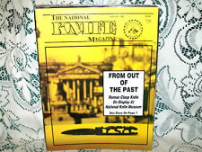 NATIONAL KNIFE 1/1988~ROMAN CLASP~BUCK~GERBER PARABELLUM~KA-BAR USMC~ROLLS RAZOR