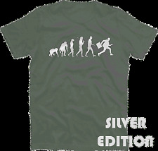 PLATA Edition WORKAHOLIC EVOLUTION Banqueros * Negocios Camiseta S-xxxl