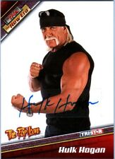 TNA Hulk Hogan H4 2010 Tristar New Era PURPLE Authentic Autograph Card SN 1 of 1