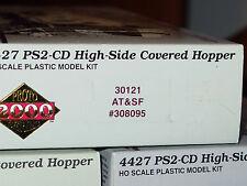 HO PROTO 2000 4427 PS2-CD High-Side Covered Hoppers! RAILROADS