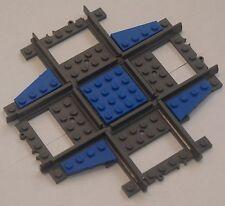 Custom Lego 90 Deg. Crossing /Crossover Track (blue) Power Function & RC Train