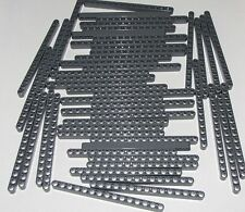 Lego Lot of 50 New Dark Bluish Gray Technic Liftarms 1 x 15 Thick Parts