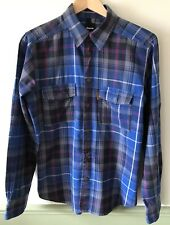 MENS BENCH SHIRT SIZE MEDIUM LONG SLEEVE
