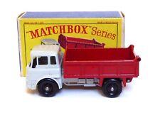 MATCHBOX Lesney No.3b BEDFORD TK 7.5 T Tipper Truck nella casella tipo SERIE D (VNM)
