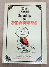 Gospel According To Peanuts Hand Signed Robert Short Soft Cover Charles Schulz