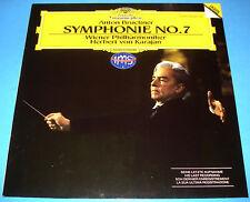 STEREO VINYL LP DGG 429226 BRUCKNER SYMPHONY No. 7 KARAJAN VIENNA LAST RECORDING