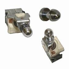 VTG Street Rod Hot Rod Headlight Switch Universal Chrome Piston Knob SCTA 12volt