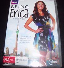 Being Erica Series Season four 4 BBC (Australia Region 4) DVD - New
