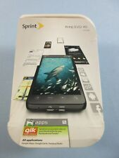 Sprint HTC Evo 4G CDMA WiMax 8GB Black w Otterbox Case and Screen Protector