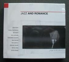 JAZZ AND ROMANCE CD - VARIOUS ARTISTS CHET BAKER BILL EVANS KENNY DREW ++ SEALED