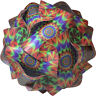 Tye Dye 60's Medium Infinity Lamp IQ Puzzle Jigsaw LuvaLamps 30 Pieces USA