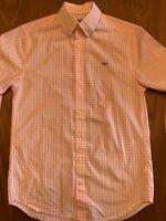 Lot Of 2 Vineyard Vines Men's Slim Fit Whale Shirt Sz Small Gingham EUC