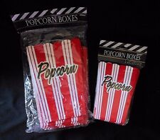 NEW Popcorn boxes 16 pieces Small and Large popcorn boxes